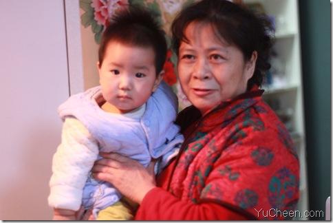 2010的大年三十语辰和外婆